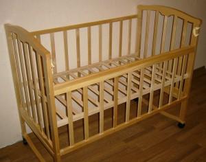 собранная детская кровать